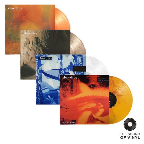 Slowdive: The Sound Of... Slowdive: Four Colour Vinyl LP Bundle