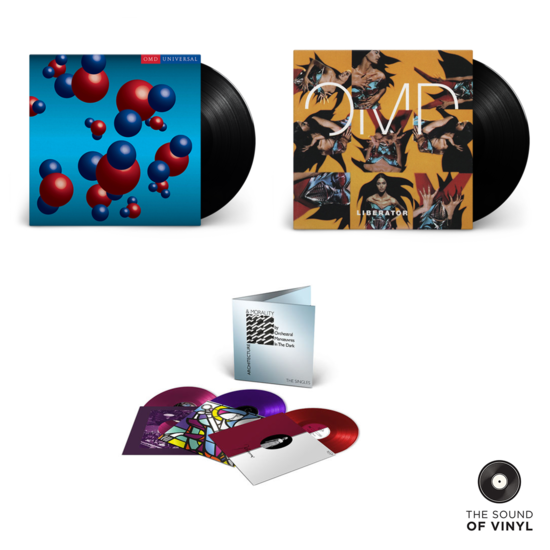 Orchestral Manoeuvres In The Dark: The Sound Of Orchestral Manoeuvres In The Dark Exclusive Vinyl Bundle