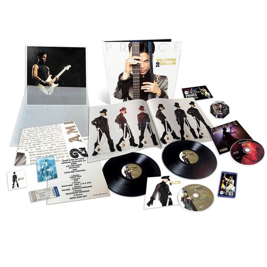 Prince: WELCOME 2 AMERICA: Deluxe Boxset
