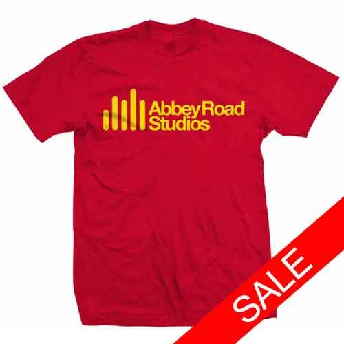 Abbey Road Studios: Abbey Road Studio Red Mens T-Shirt