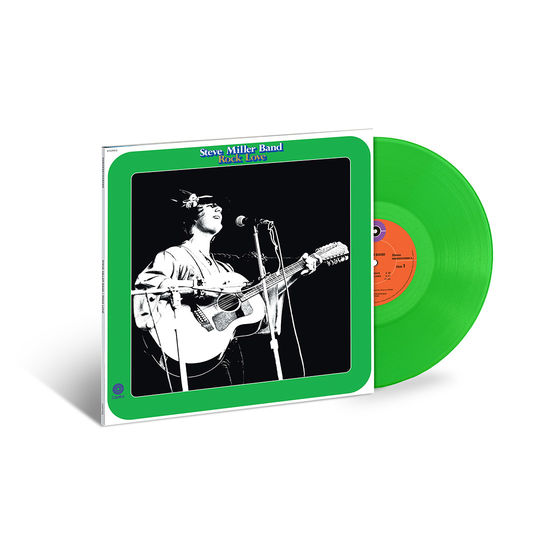 Steve Miller Band: Rock Love: Exclusive Translucent Green Vinyl