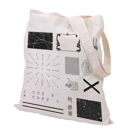Cut Copy: Haiku From Zero Tote Bag