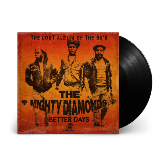 The Mighty Diamonds: Better Days: Black Vinyl LP