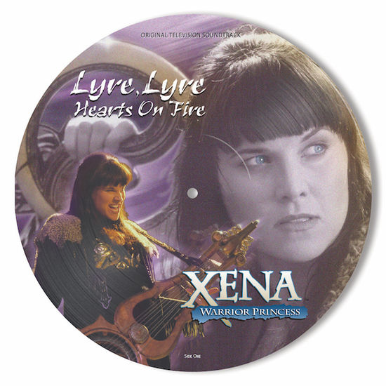 Original Soundtrack: Xena: Warrior Princess - Lyre, Lyre Hearts On Fire: Limited Edition Picture Disc