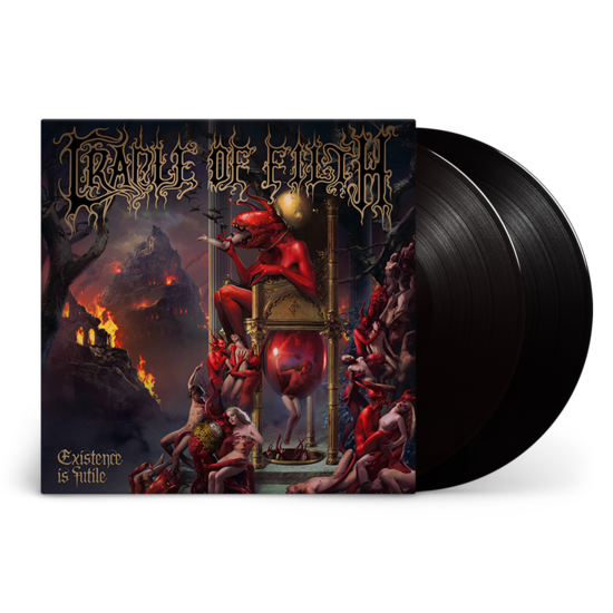 Cradle Of Filth: Existence Is Futile: Limited Edition Gatefold Double Vinyl