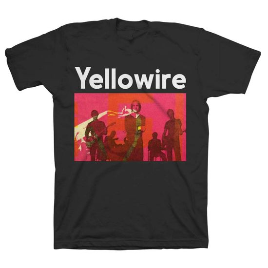 Yellowire: Yellowire Group Black T-Shirt - Small