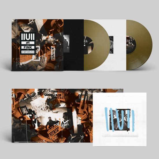 Fink: IIUII: Limited Edition Solid Bronze Vinyl 2LP