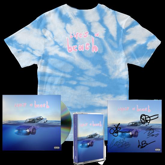 Easy Life: lifes a beach: cassette, cd, tee + signed art card