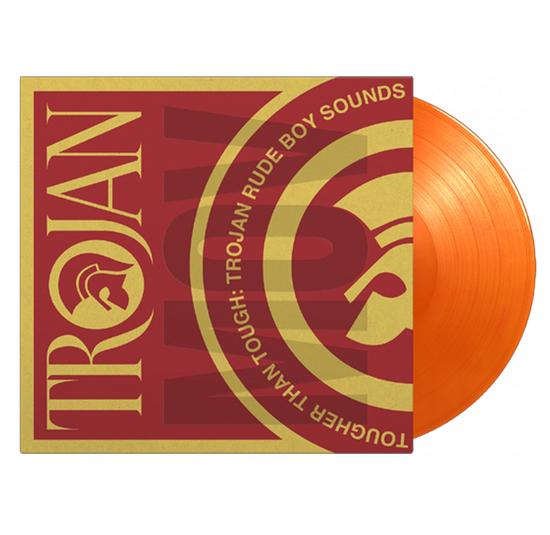 Various Artists: Tougher Than Tough - Trojan Rude Boy Sounds: Limited Edition Orange Vinyl