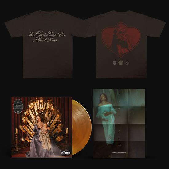 Halsey: Limited Edition Heart Crest T-Shirt, FILM POSTER & LP