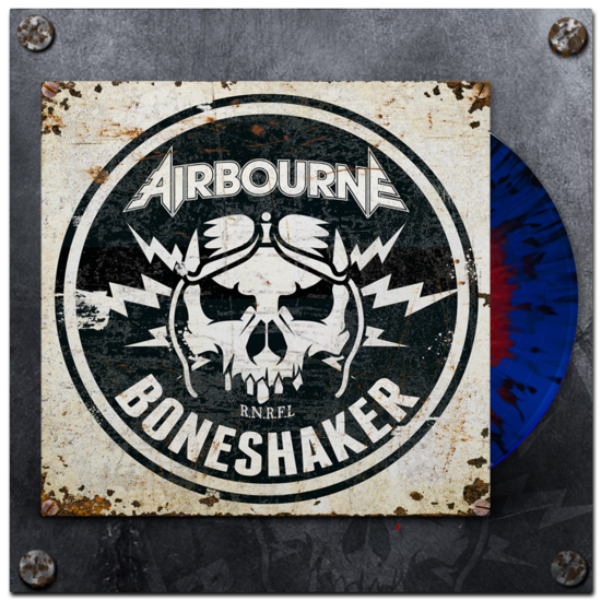 Airbourne: Boneshaker Blood In The Water Vinyl