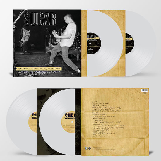 Sugar: The Joke Is Always On Us: Limited Edition Heavyweight Clear Vinyl