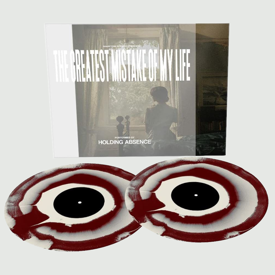 Holding Absence: The Greatest Mistake Of My Life: Limited Edition Oxblood + Creamy White Vinyl