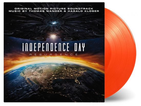 Thomas wander and Harald kloser: INDEPENDENCE DAY RESURGENCE: Orange Vinyl