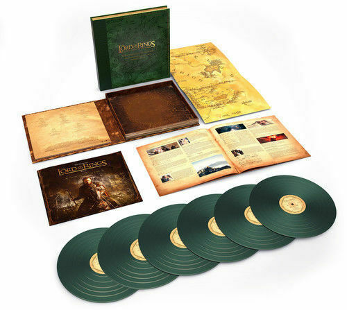 Original Soundtrack: Lord of the Rings: Return of the King - The Complete Recordings: Limited Edition Green Vinyl Box Set