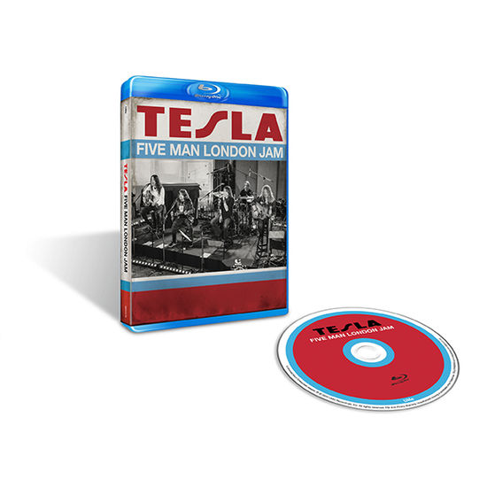 Tesla: Five Man London Jam Blu-Ray