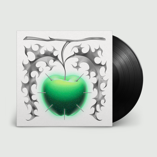 A.G. Cook: Apple: Black Vinyl in Double Embossed Gatefold Sleeve w/ Metallic Ink