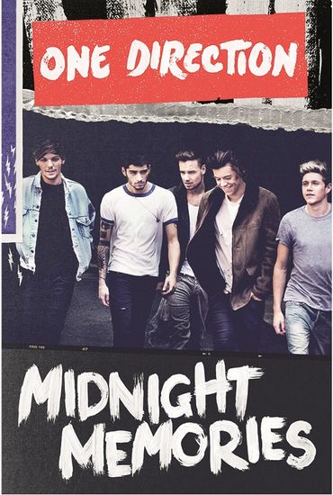One Direction: One Direction Midnight Memories Poster