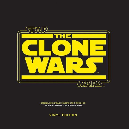 kevin kiner: Star Wars: The Clone Wars - Seasons One Through Six LP