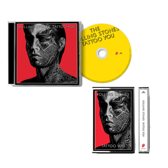 The Rolling Stones: TATTOO YOU: CD + CASSETTE