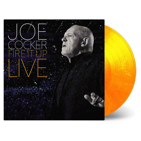 Joe Cocker: Fire It Up Live: Limited Edition 'Flaming' Red & Orange Coloured Vinyl