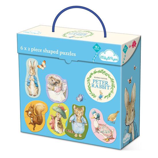 Peter Rabbit: Peter Rabbit 6 x 2 Piece Puzzles