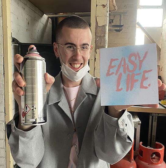 Easy Life: lifes a beach: Stencil CD & Band Cassette