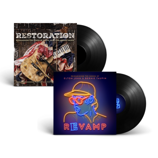 Elton John: 'Revamp' & 'Restoration' LP Collection