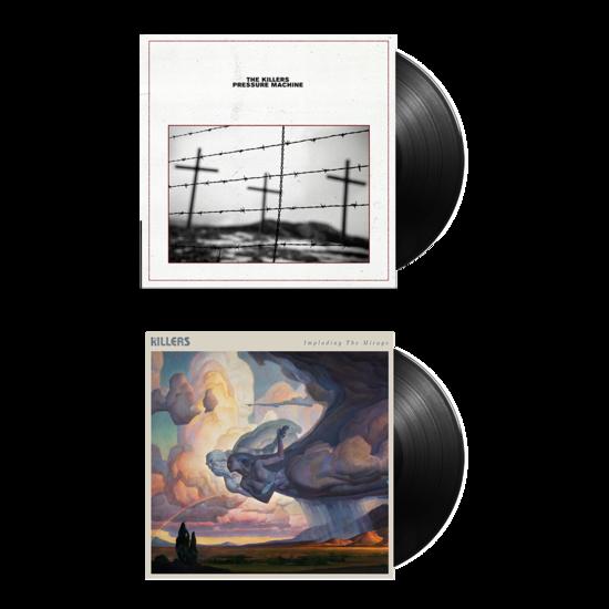 The Killers: PRESSURE MACHINE + IMPLODING THE MIRAGE Vinyl Bundle
