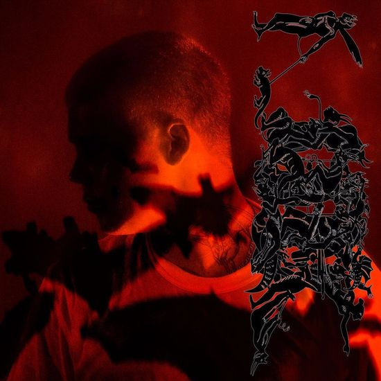 Yung Lean: STRANGER: Limited Red & Black Splatter Double Vinyl