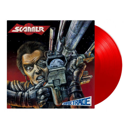 Scanner: Hypertrace - Red Hand Numbered Vinyl