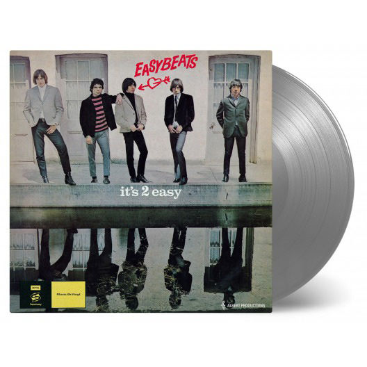 The Easybeats: It's 2 Easy: Limited Edition Silver Coloured Vinyl LP