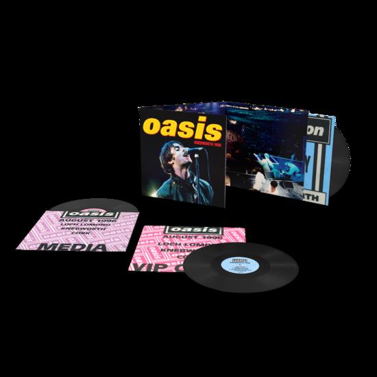 Oasis: Knebworth 1996: Limited Edition Triple Vinyl