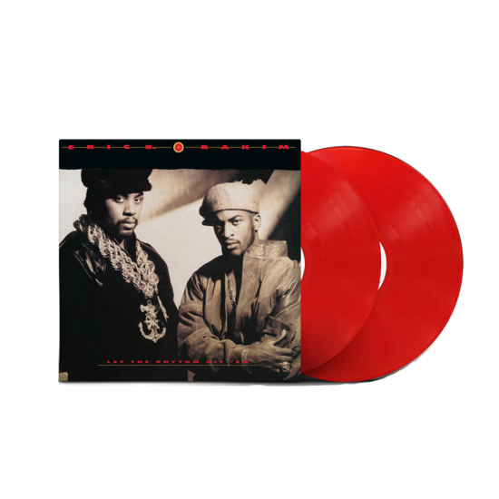 Eric B. & Rakim: Let The Rhythm Hit 'Em: Exclusive Red Vinyl