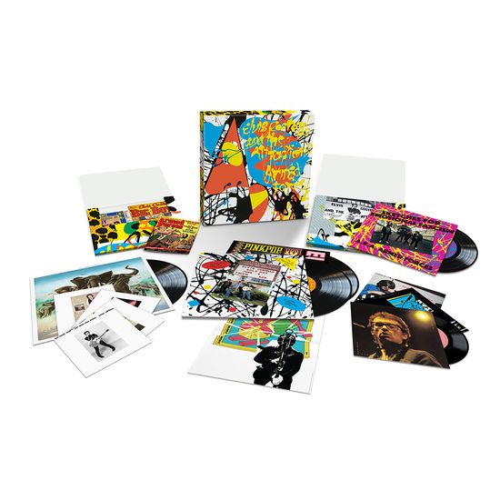 Elvis Costello: Armed Forces: Exclusive Super Deluxe Black Vinyl Box Set