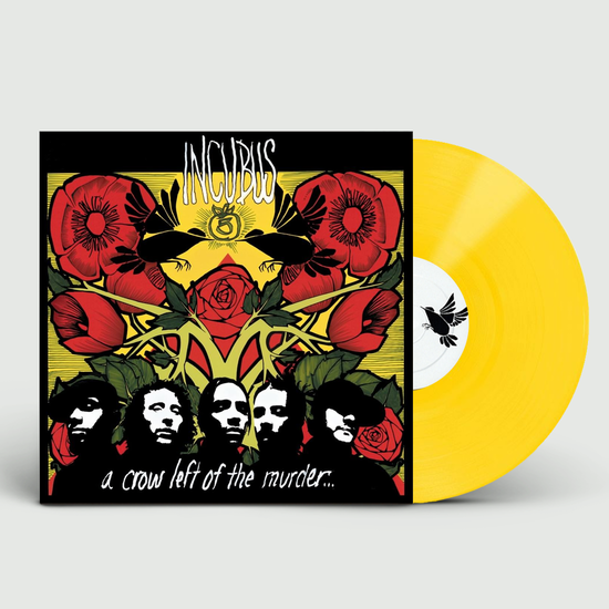 Incubus: A Crow Left Of The Murder: Limited Edition Yellow Coloured Vinyl