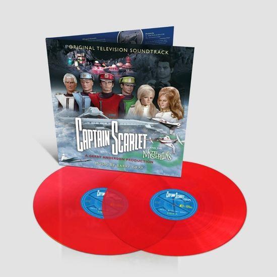 Original Soundtrack: Captain Scarlet  & The Mysterons: Limited Edition Gatefold Transparent Vinyl