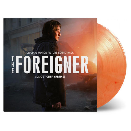 Cliff Martinez: The Foreigner: Opaque Orange Numbered Vinyl