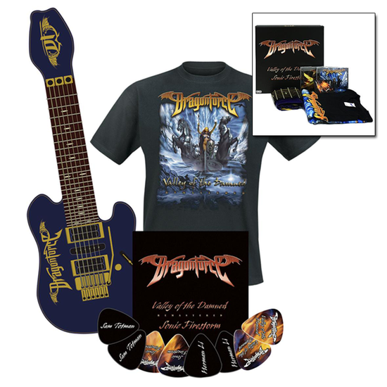 Dragonforce: Valley of the Damned / Sonic Firestorm Fan Pack (X-Large T-Shirt Size ONLY)