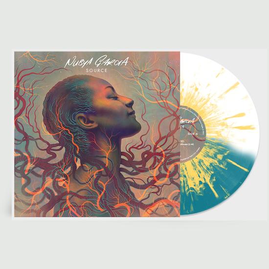 Nubya Garcia: Source: Limited Edition Clear, Turquoise + Yellow Splatter Vinyl