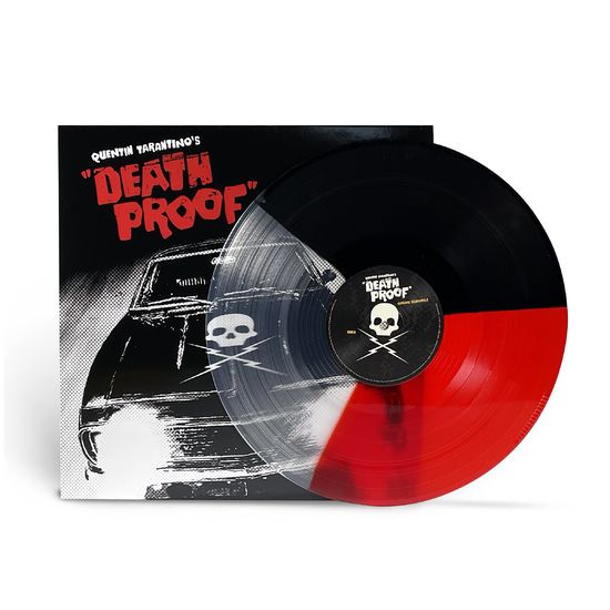 Original Soundtrack: Quentin Tarantino's Death Proof: Limited Edition Tri-Colour Red, Clear And Black Vinyl