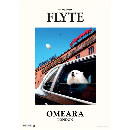 Flyte: Limited Edition Omera 2019 Show Print - Signed