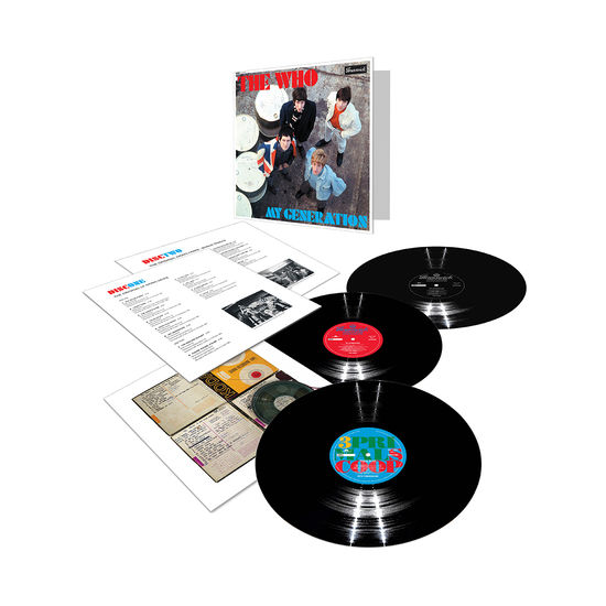 The Who: My Generation: Deluxe 3 X LP