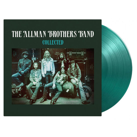 Allman Brothers: Collected: Allman Brothers Band Double Transparent Green Numbered Vinyl
