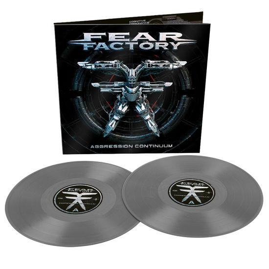 Fear Factory: Aggression Continuum: UK Exclusive Gatefold Grey Vinyl 2LP