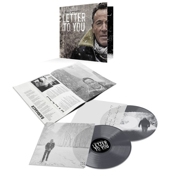 Bruce Springsteen & The E Street Band: Letter To You: Limited Edition Double Grey Vinyl LP + Etching