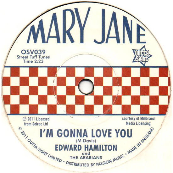 Edward Hamilton & The Arabians: Baby Don't You Weep / I'm Gonna Love You