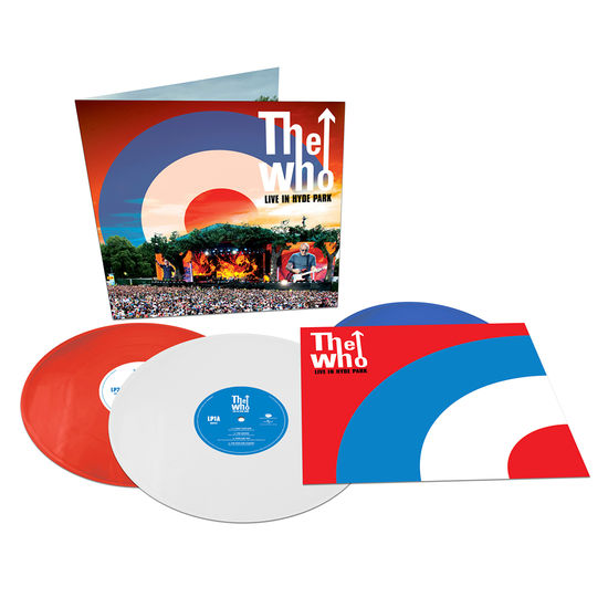 The Who: Live at Hyde Park: Limited Edition Red, White & Blue Vinyl