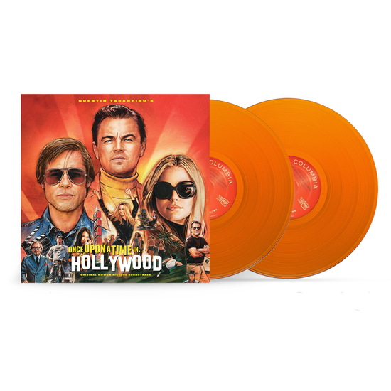 Various Artists: Quentin Tarantino's Once Upon A Time In Hollywood (Original Motion Picture Soundtrack): Limited Edition Orange Vinyl