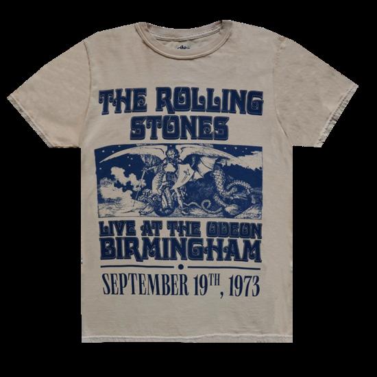 The Rolling Stones: Vintage Birmingham '73 Tour T-Shirt